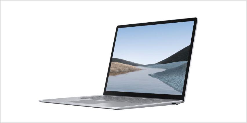 Microsoft Surface Laptop 3 15in Ryzen 5 8GB 128GB - Platinum from Argos
