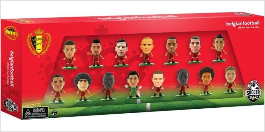 SoccerStarz Belgium 15 Team Figurine Pack. from Argos