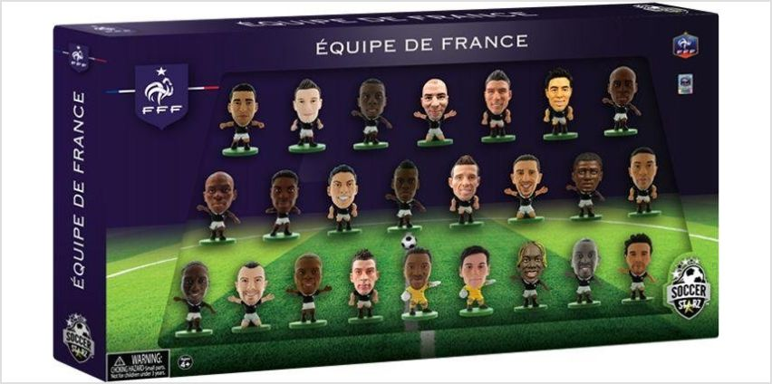 SoccerStarz France 24 Team Figurine Pack. from Argos