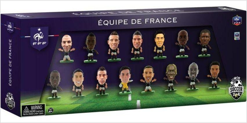 SoccerStarz France 15 Team Figurine Pack. from Argos