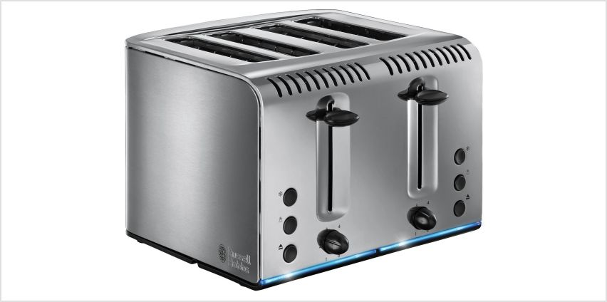 Russell Hobbs Buckingham 4-Slice Toaster St/Steel 20750 from Argos