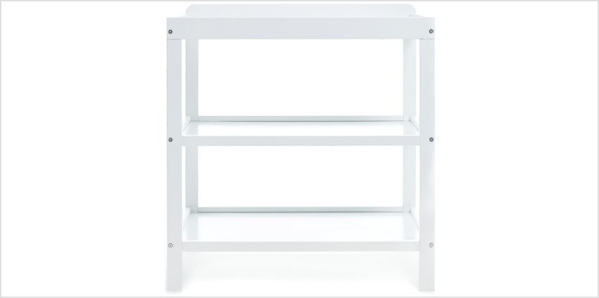 Obaby Open Changing Unit - White. from Argos