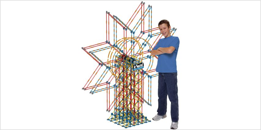 K'NEX 6 Foot Double Ferris Wheel. from Argos