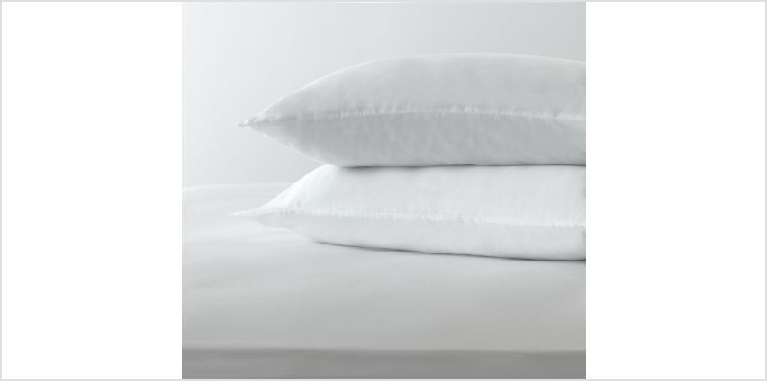 Argos Home Medium Support Pillow - 2 Pack from Argos