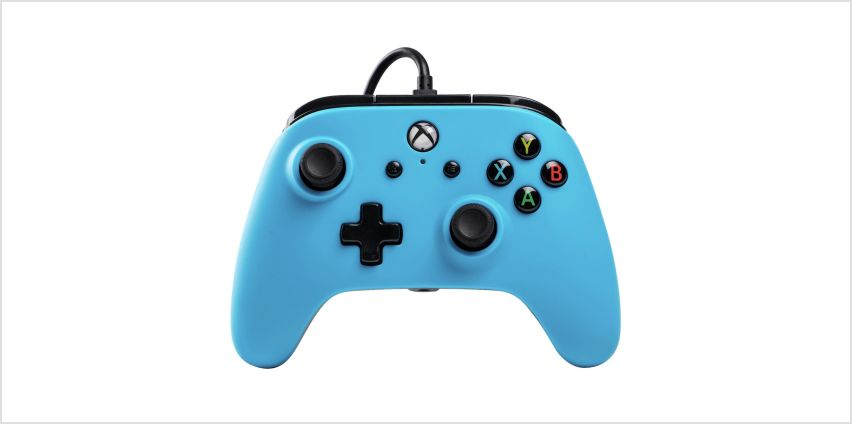 PowerA Wired Xbox One Controller - Blue from Argos
