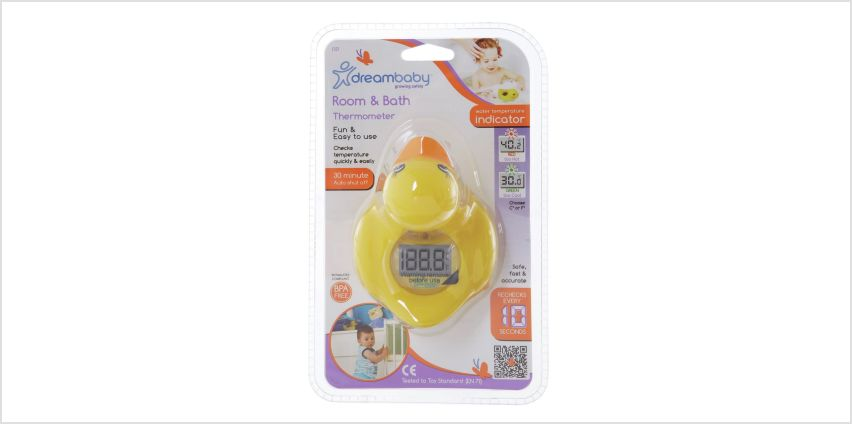 Dreambaby Digital Room & Bath 2-In-1 Thermometer Duck Design from Argos
