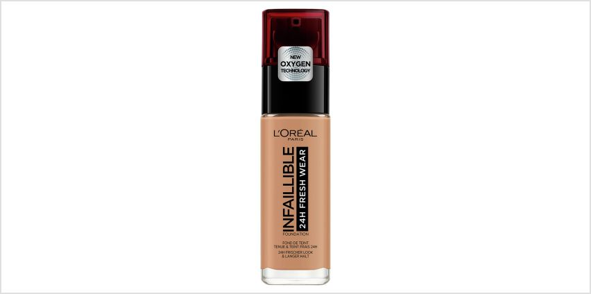 L'Oreal Infallible 24hr Foundation - 300 Amber from Argos