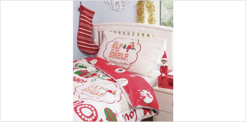 The Elf on the Shelf Joy Bedding Set - Single  from Argos
