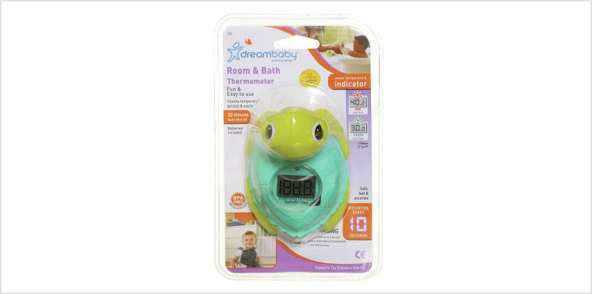 Dreambaby Digital Room & Bath 2-In-1 Thermometer (Turtle) from Argos