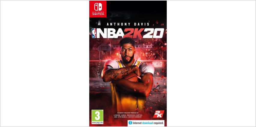 NBA 2K20 Nintendo Switch Game from Argos