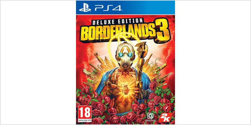 Borderlands 3 Deluxe Edition PS4 Game from Argos