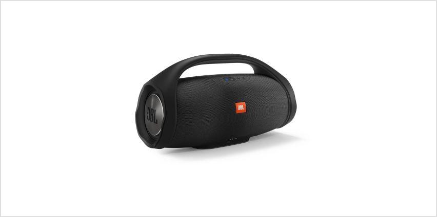 JBL Bluetooth Boombox - Black from Argos