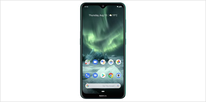 SIM Free Nokia 7.2 64GB Mobile Phone - Cyan Green from Argos