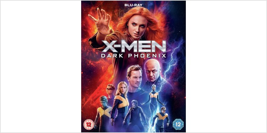 X-Men: Dark Phoenix Blu-Ray from Argos