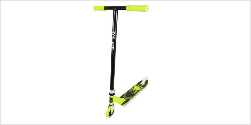 Zinc Detour Stunt Scooter - Yellow from Argos