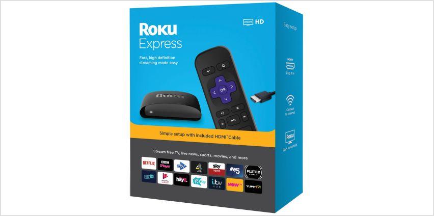 Roku Express HD Streaming Media Player from Argos