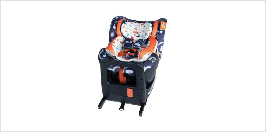 Cosatto RAC Come and Go Rotate iSize Car Seat - Road Map from Argos