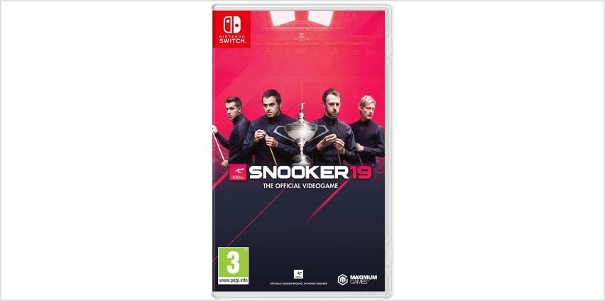 Snooker 19 Nintendo Switch Game from Argos