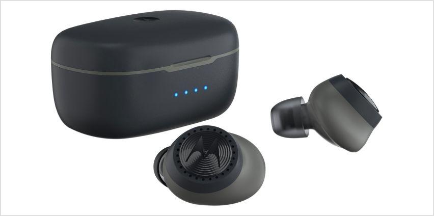 Motorola Verve 200 True-Wireless Sports Headphones - Black from Argos