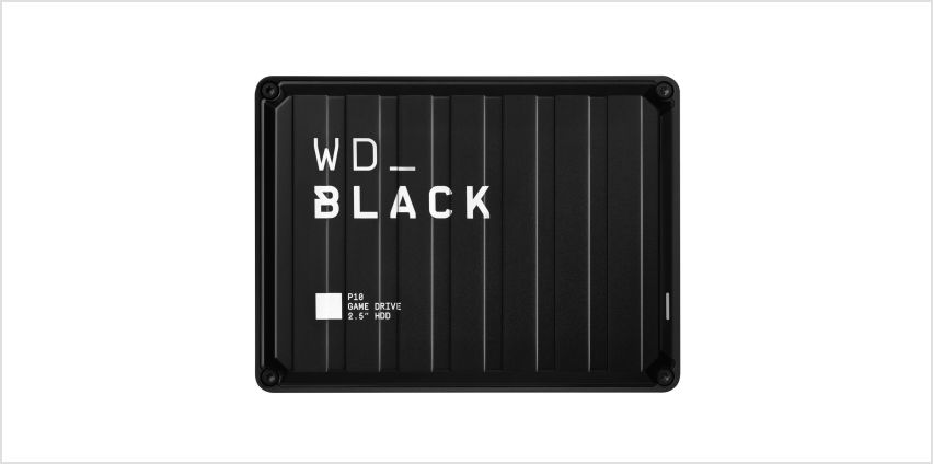WD Black P10 2TB Portable Gaming Drive for Console or PC from Argos