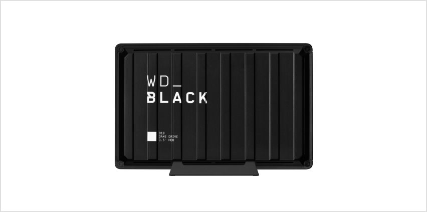 WD Black 8TB D10 Gaming Drive for Console or PC from Argos