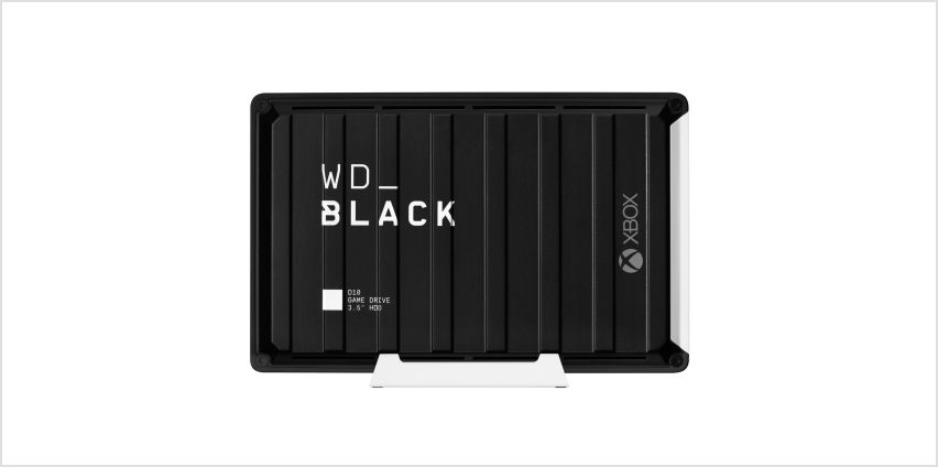 WD Black 12TB D10 Gaming Drive for Xbox One from Argos