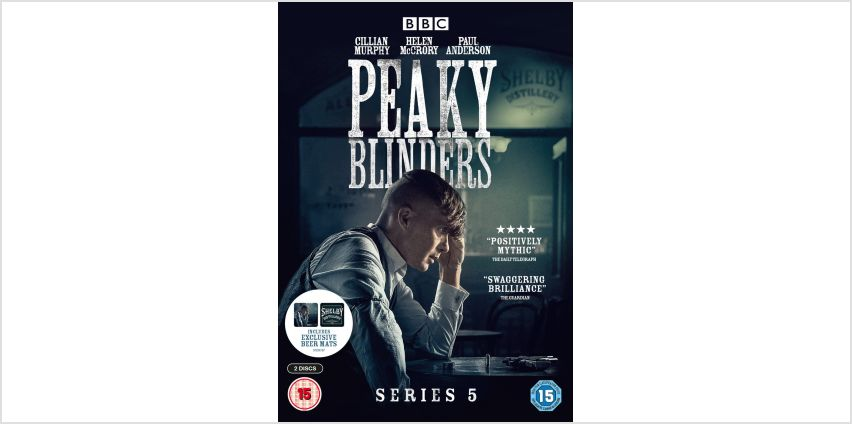 Peaky Blinders Series 5 DVD from Argos
