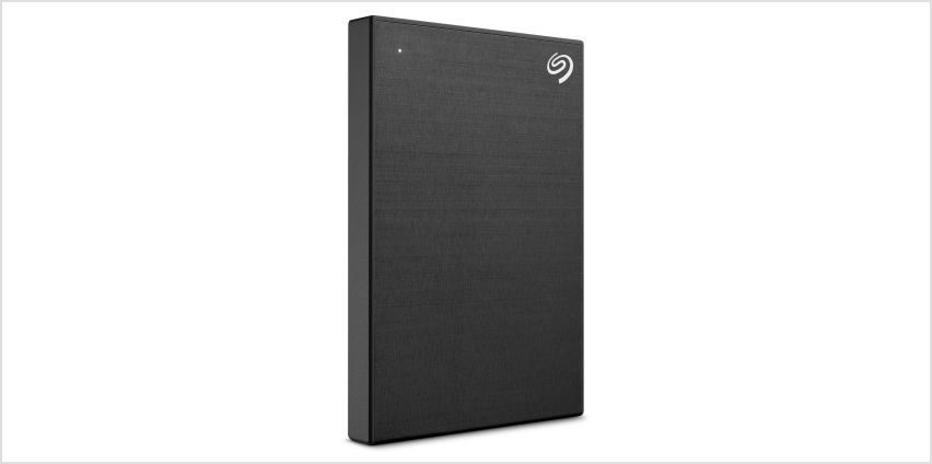Seagate Backup Up 2TB Portable Hard Drive - Black from Argos