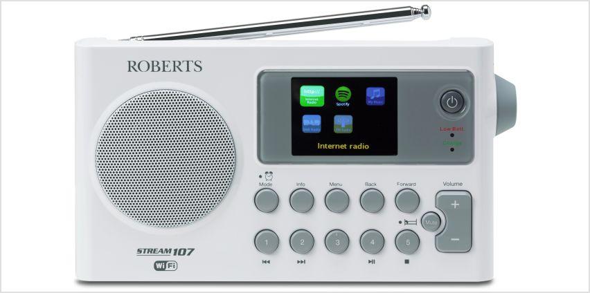 Roberts Radio Stream107 Internet Radio. from Argos