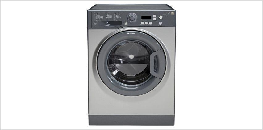 Hotpoint WMXTF742G 7KG 1400 Spin Washing Machine - Graphite from Argos