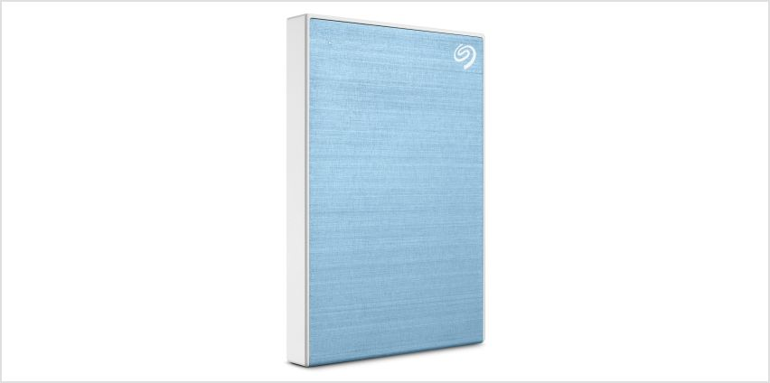 Seagate Backup Plus 2TB Portable Hard Drive - Blue from Argos
