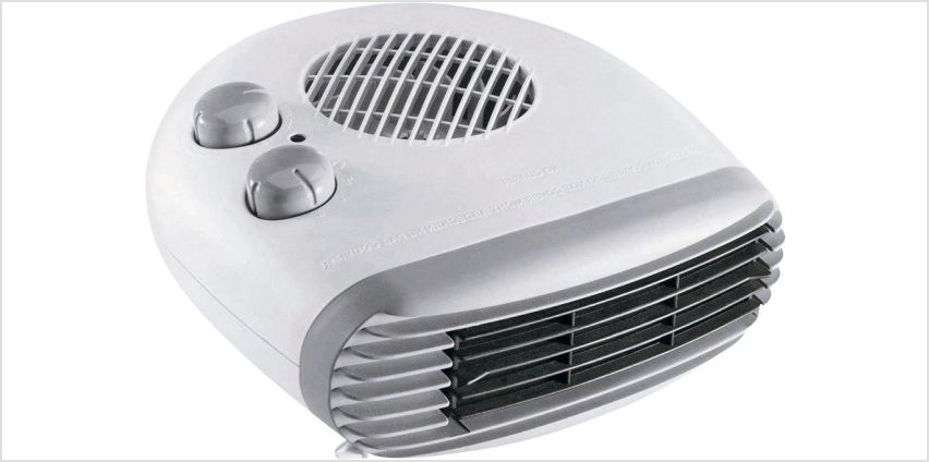 Simple Value 2kW Flat Fan Heater. from Argos
