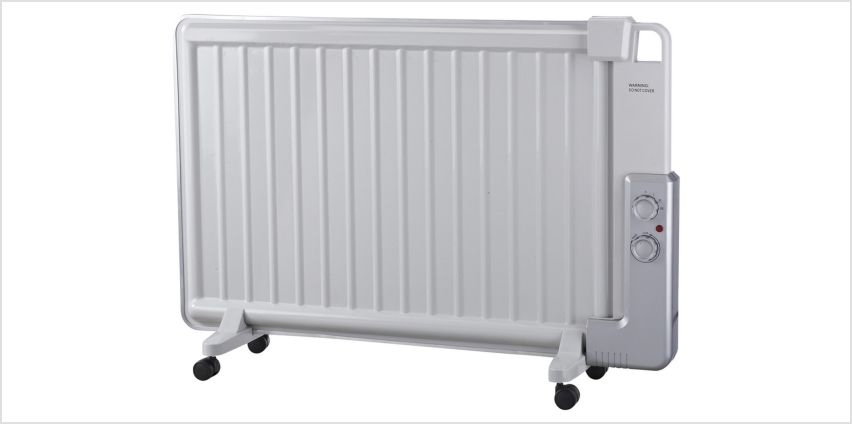Challenge 0.7kW Oil Filled Panel Heater from Argos