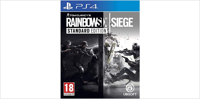 Rainbow Six Siege PS4 Game from Argos