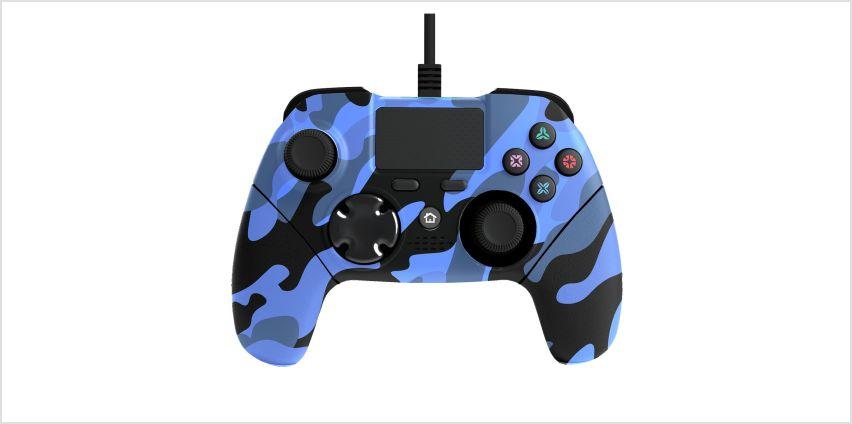 Mayhem MK1 PS4 Controller - Blue Camo from Argos