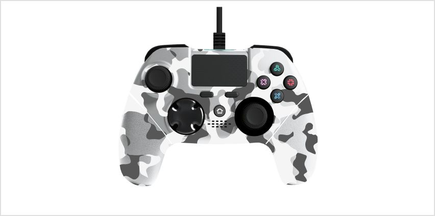 Mayhem MK1 PS4 Controller - White Camo Pre-Order from Argos