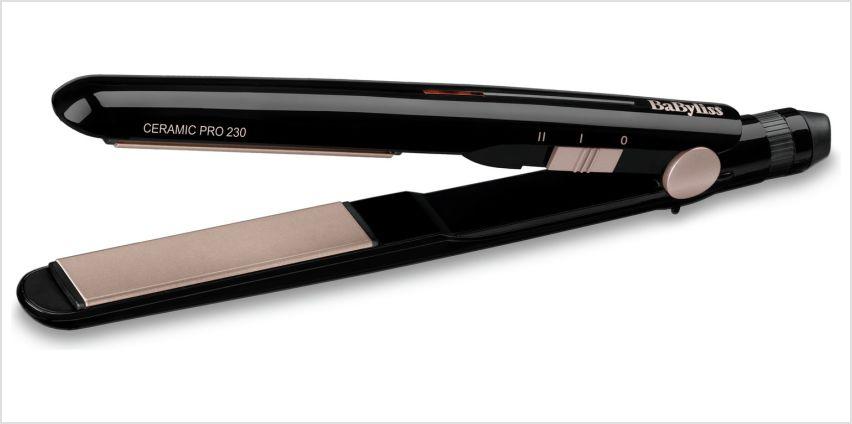 BaByliss 2069U Ceramic Pro 230 Hair Straightener from Argos
