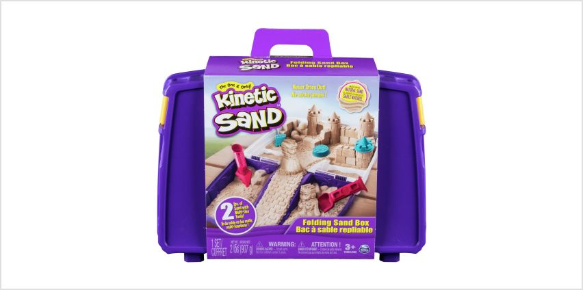 Kinetic Sand Folding Sand Box from Argos