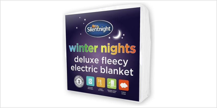 Silentnight Deluxe Fleecy Electric Blanket - Double from Argos