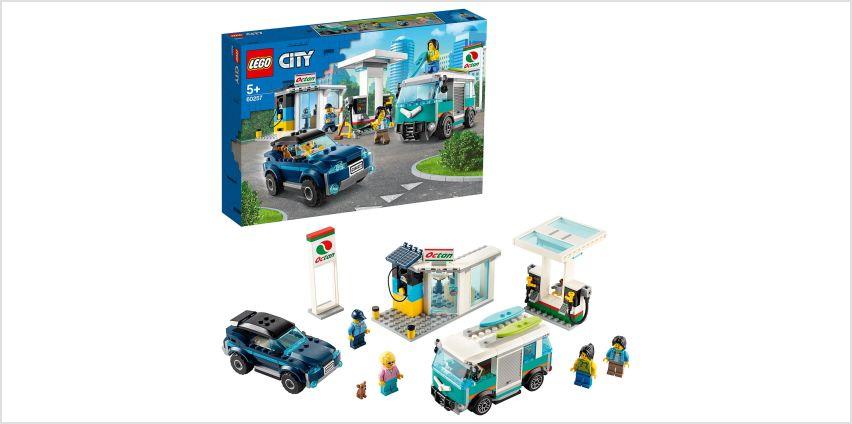 LEGO City Turbo Wheels Service Station Building Set - 60257 from Argos