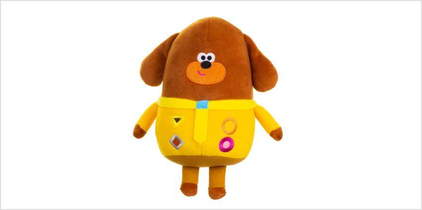 Hey Duggee Talking Duggee Soft Toy from Argos