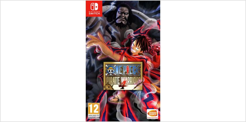 One Piece: Pirate Warriors 4 Nintendo Switch Game from Argos