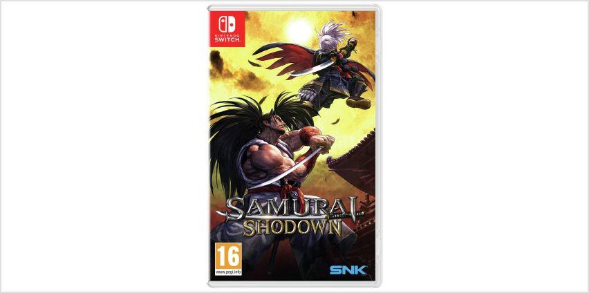 Samurai Shodown Nintendo Switch Game from Argos
