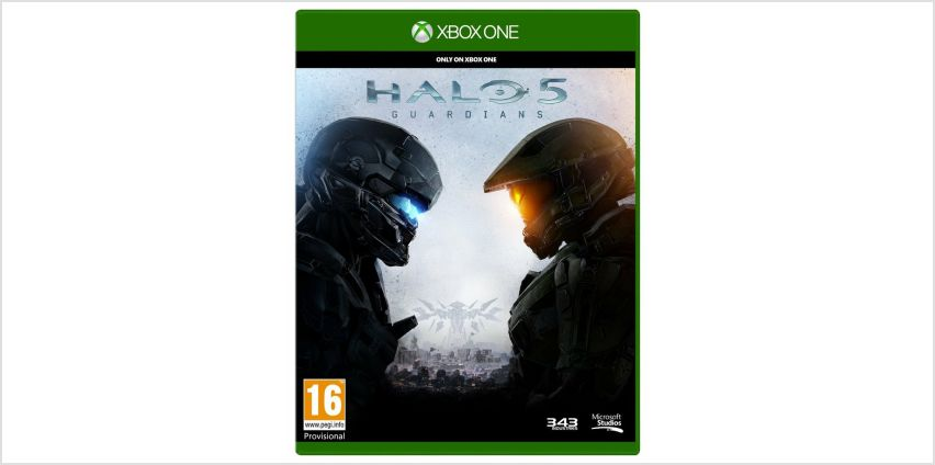 Halo 5: Guardians Xbox One Game from Argos