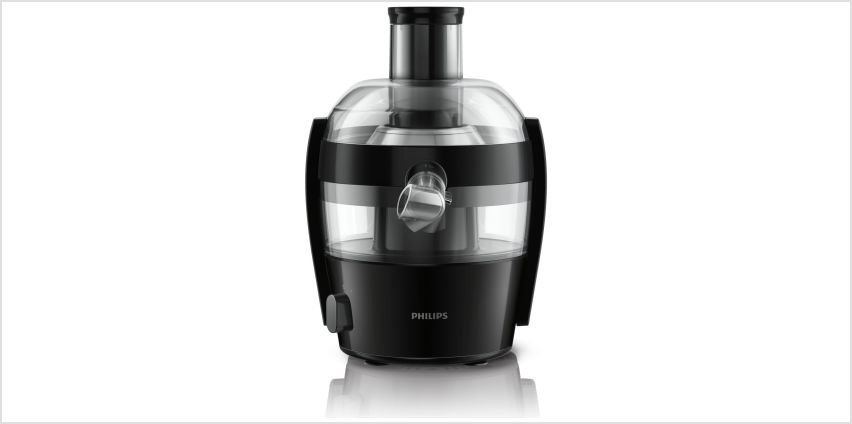 Philips HR1832/01 Compact Juicer - Black from Argos