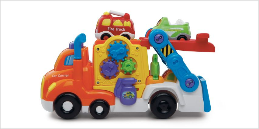 VTech Toot-Toot Drivers Car Carrier Playset from Argos