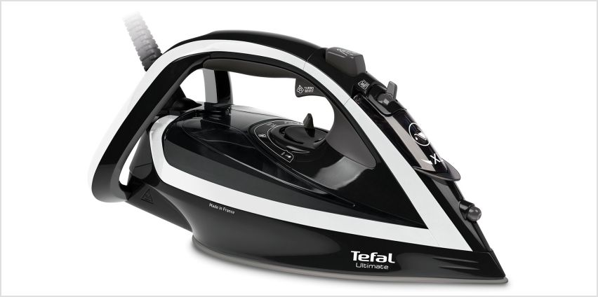 Tefal FV5675 Ultimate Turbo Steam Iron from Argos