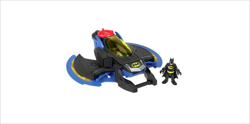 Imaginext DC Super Friends Batwing with Batman Figure from Argos
