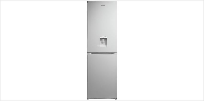 Candy CCBF5182AWK Fridge Freezer with Water Dispenser-Silver from Argos