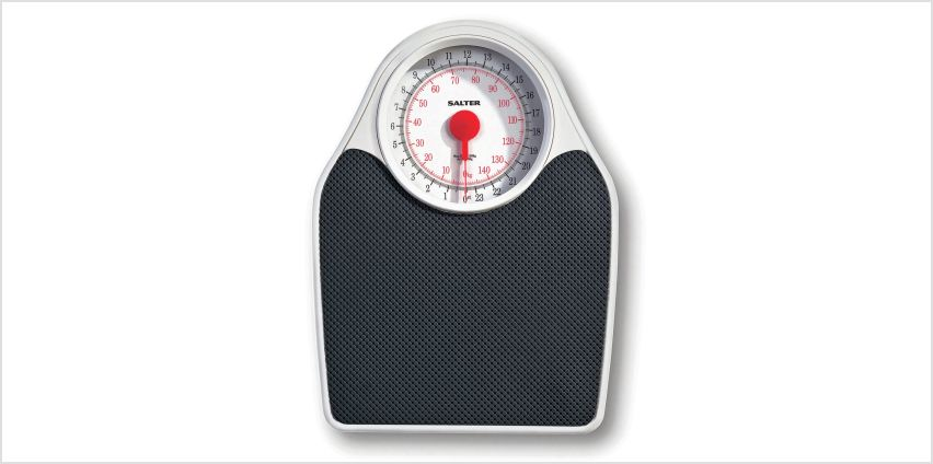 Salter Doctor's Style Mechanical Scale - Black & White from Argos